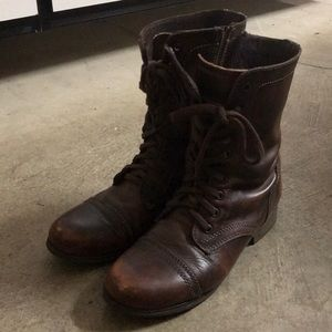 Steve Madden Troopa Combat Boots